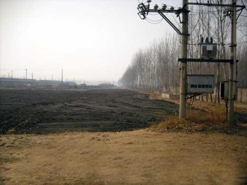 木林镇建设土地一次性转让78亩